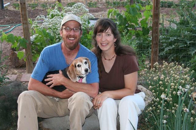 Colby and Amy (and Emilie, the beagle!)