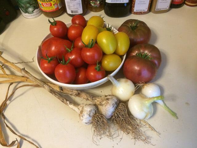 Tomato Soup: Before!
