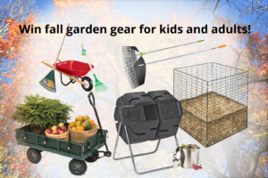 Rake and Roll Composting Giveaway prizes
