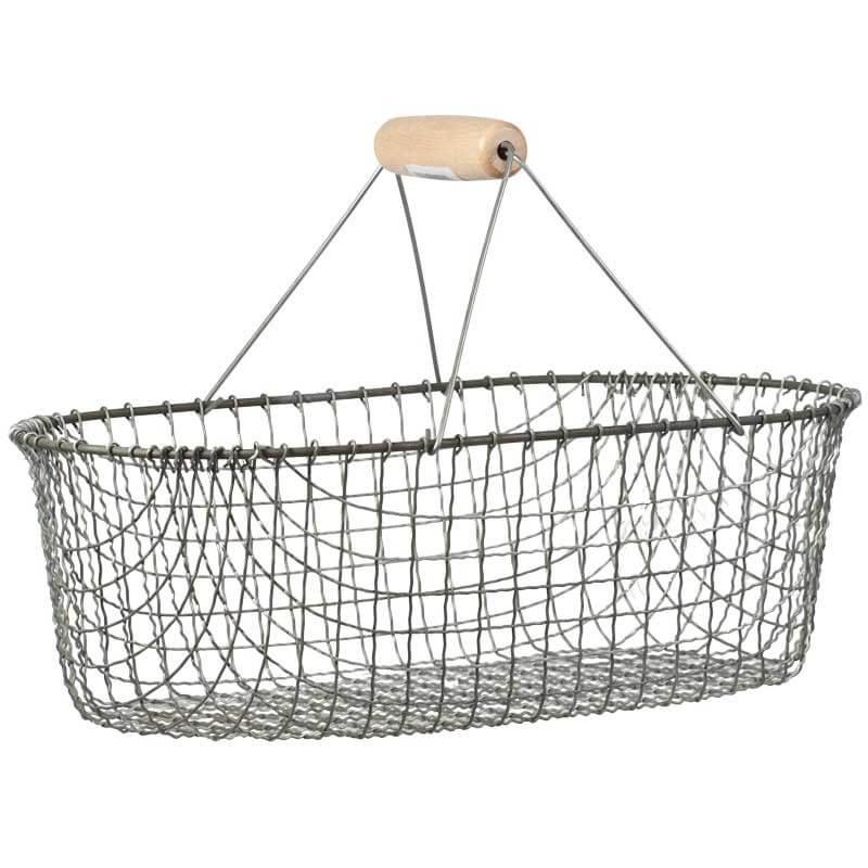 Metal harvest basket by GrowOrganic.com