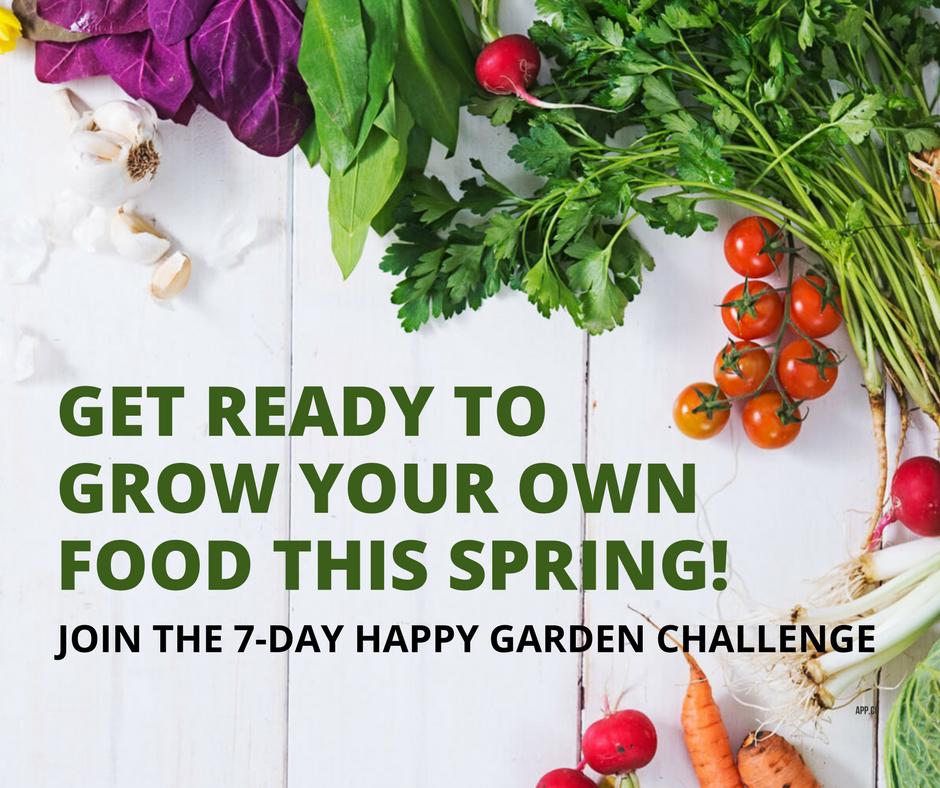 Happy Garden Challenge Image - Gardens That Matter
