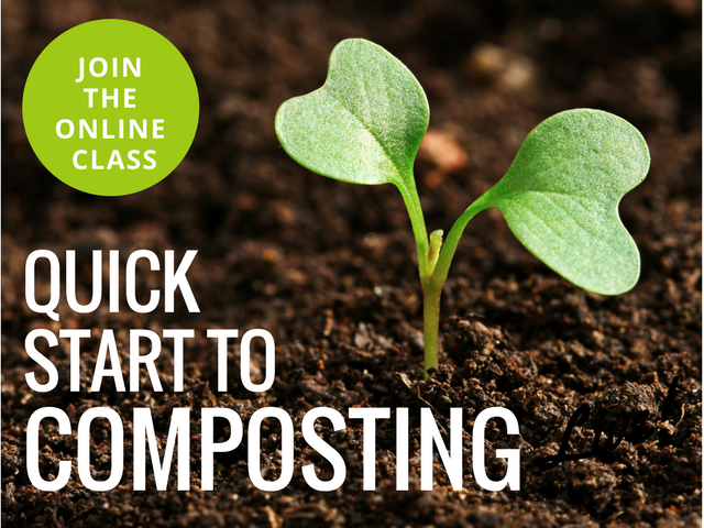 Join the Quick Start to Composting Class