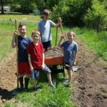 Life and Learning in the Garden: An Interview with Homeschooling Homesteader Kallie Vaughn